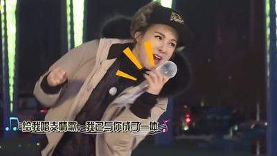 蔡妍握冰话筒热舞抢镜 Tony史上首次胜利