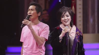 第一轮:齐秦姐弟同台合唱经典