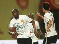 中超-河北华夏幸福2-2上海申花 姆比亚头球梅开二度