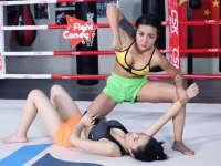 《Fight Candy》第40期:亮眼美女抄腿摔