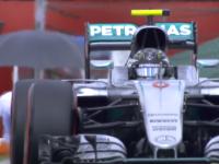 F1德国站FP3集锦 罗斯伯格依旧最快 维特尔前翼断裂