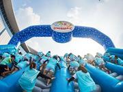 【乐尚播报】BIG GAME疯狂气垫上海北外滩上港邮轮城