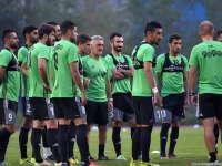 直击伊朗赛前训练 当家锋霸直言国足实力强劲可拼韩国