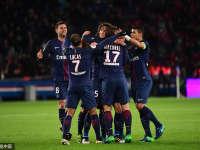 巴黎圣日耳曼4-0雷恩