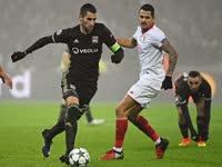 欧冠-里昂全场狂攻无果 双方三中门框里昂0-0塞维利亚