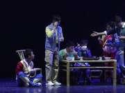 好动人!希望小学儿童剧《百合春天》在京首演