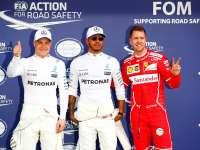 F1澳大利亚站排位赛:汉密尔顿杆位 维特尔第二