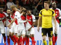 欧冠-姆巴佩法尔考破门 摩纳哥总比分6-3淘汰多特