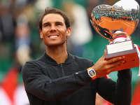 蒙卡赛-纳达尔两盘完胜拉莫斯 勇夺第十冠成历史第一人