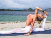 精神海边瑜伽  加强臀部与腿部的线条特辑 Yoga For Splits ♥ Release Tight Hips & Increase Leg Flexibility