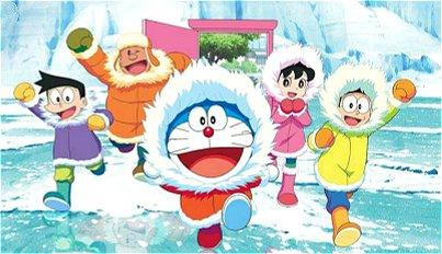 《哆啦A梦:大雄的南极冰冰凉大冒险》