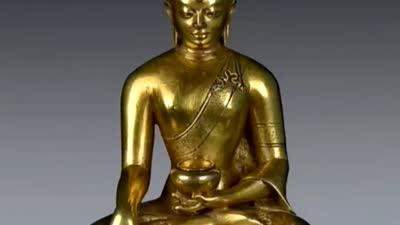 清中期释迦摩尼佛造像
