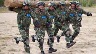 西藏武警魔鬼周特训