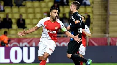 法甲-法尔考双响卡里略4分钟2球 摩纳哥6-0狂扫南锡