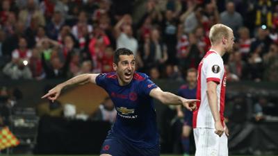 比赛报告-曼联2-0首夺欧联杯 双冠加冕挺进欧冠