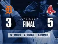 【6/10集锦】布拉德利致胜全垒打 红袜逆转老虎