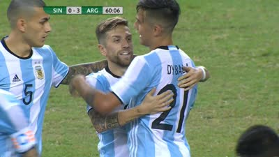 阿根廷外围突施冷箭 戈麦斯刁钻快速高质量破门