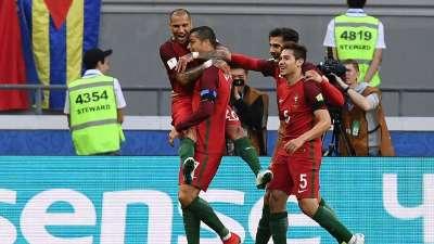 C罗助攻夸雷斯马破门 葡萄牙1-0领先墨西哥