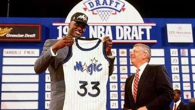 历史上的6月25日:魔术状元签摘走大鲨鱼奥尼尔