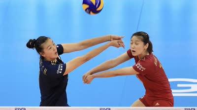 中国女排救6赛点3-2险胜荷兰 半决赛将对阵意大利
