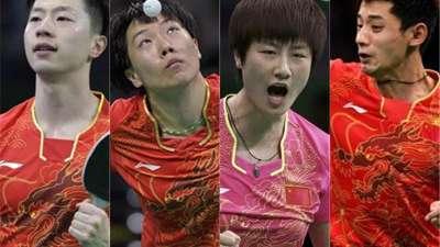 """除了摘金夺银 中国乒乓球队这几天竟还做了5件""""坏事"""""""