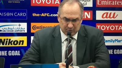 施蒂利克:先失球导致困难 相信能带韩国进世界杯