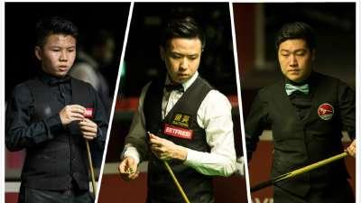世锦赛余下16席敲定 中国三人晋级金左手出局