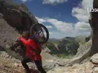 独轮车先驱内心独白 骑车登山只为超越自我