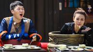 杜海涛祖儿狂吃暗黑料理