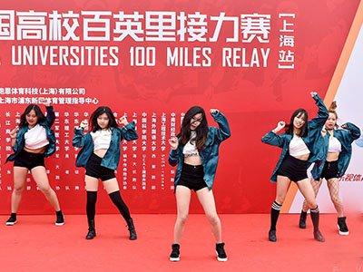 上海站-美女热舞助阵 复旦大学获冠军