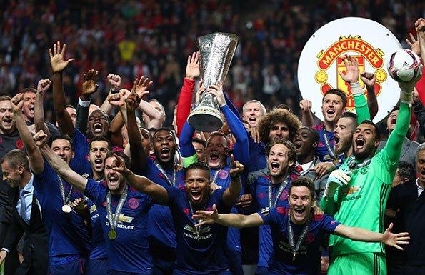 欧联-博格巴姆希塔良破门 曼联2-0胜首夺欧联杯