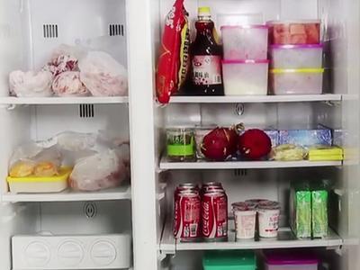杨阳洋家冰箱大揭秘