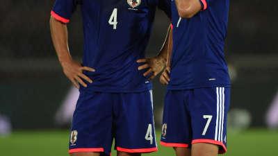 揭秘日本队任意球绝招 本田圭佑与柴崎岳的暗号