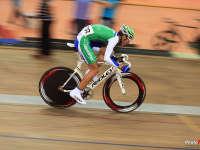 欧洲冠军讲比赛趣事  杰弗瑞揭场地自行车奥秘