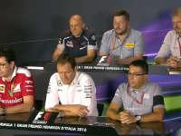 F1缺人?意大利站新闻发布会 车队畅谈赛车多栖人才