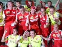 2015年F1马来西亚站集锦 维特尔首度身披红袍加冕