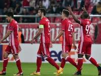 欧联-10分钟轰3球奠定胜局 奥林匹亚科斯4-1阿斯塔纳