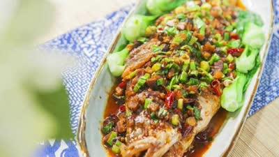 安徽名菜红烧臭鳜鱼