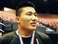 MMA世锦赛赛后采访 刘郑有些遗憾未夺金腰带