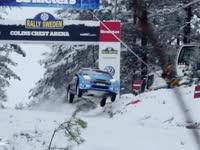 WRC瑞典站柯林坡前瞻 今年新车能飞多远?45米?