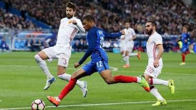 【录播】法国vs西班牙(梁翔宇) 2017国际友谊赛