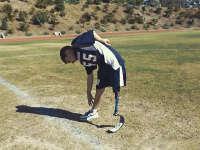 9岁的独腿男孩讲述他和运动不得不说的故事