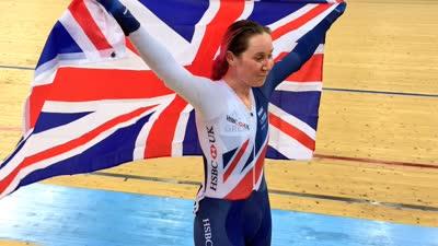 2017场地车世锦赛第三日 英国选手稳定发挥夺冠