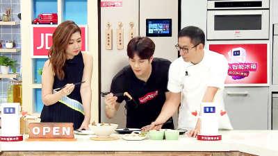 王嘉尔菜肴备受好评