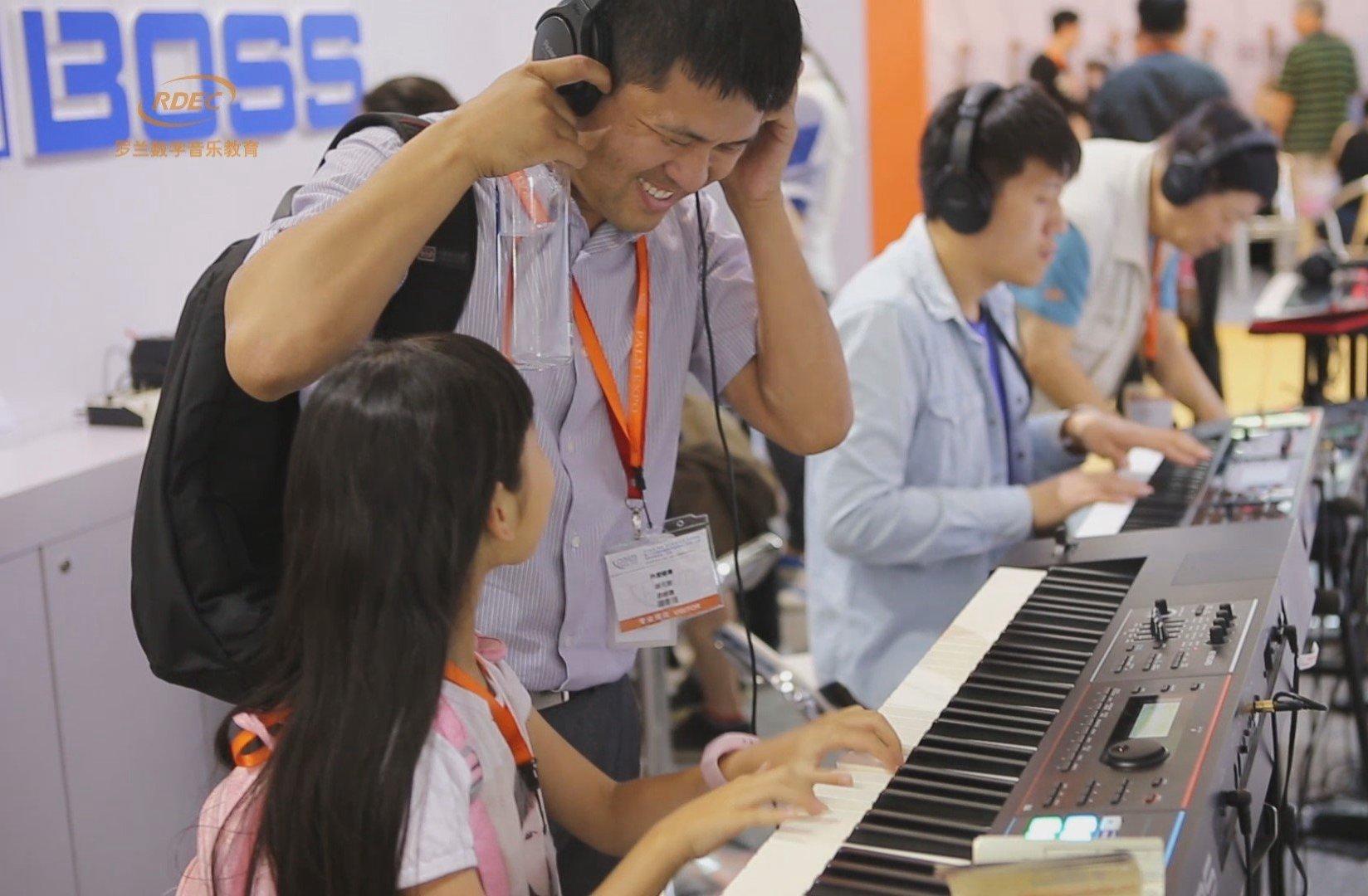 2016北京乐展罗兰数字音乐教育集锦