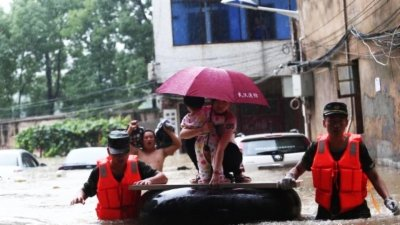 直击湖北突发特大洪水
