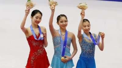 亚冬会花滑女单 李子君获亚军韩国选手夺冠
