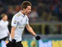意甲-切尔西租将89分钟绝杀 9人AC米兰1-0客胜博洛尼亚