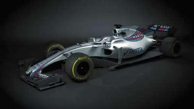 2017赛季第一款F1赛车!威廉姆斯新车FW40效果图