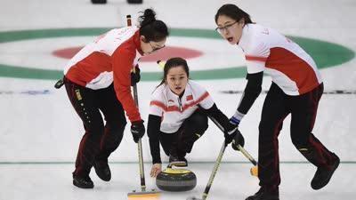 亚冬会冰壶首轮 中国男女队均取开门红